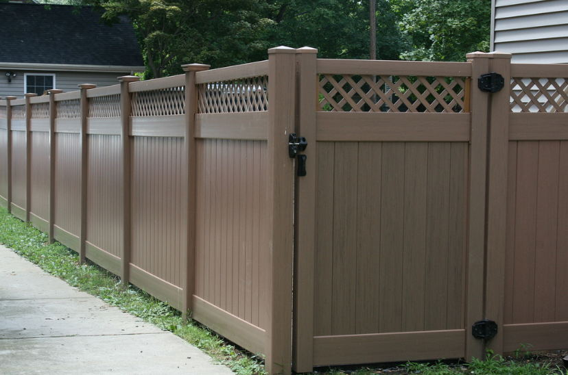 Non Wood Fence Ideas