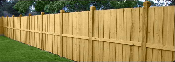 Wood Fence Coastal Fence
